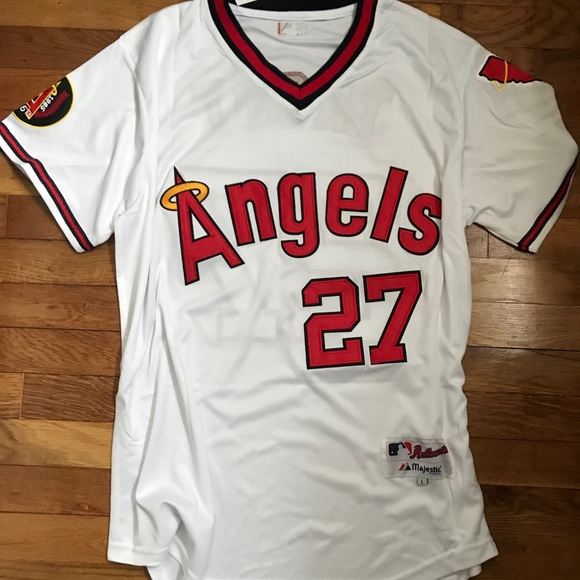 ef69f938f ... order mike trout throwback angels jersey medium nwt 7a248 d7c8a